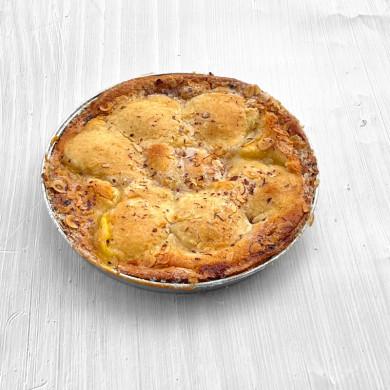 Kanelsnegl m. Hvid Glasur