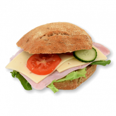 Sandwich m. Skinke og Ost