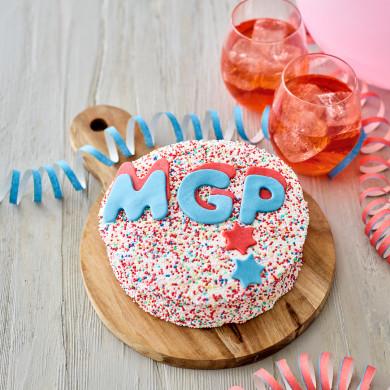 Kagemand - Chokoladekage